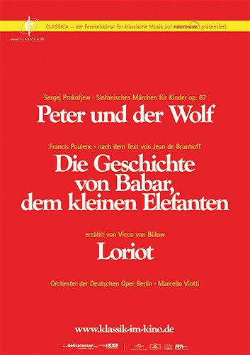 Peter und der Wolf / Babar, der kleine Elefant