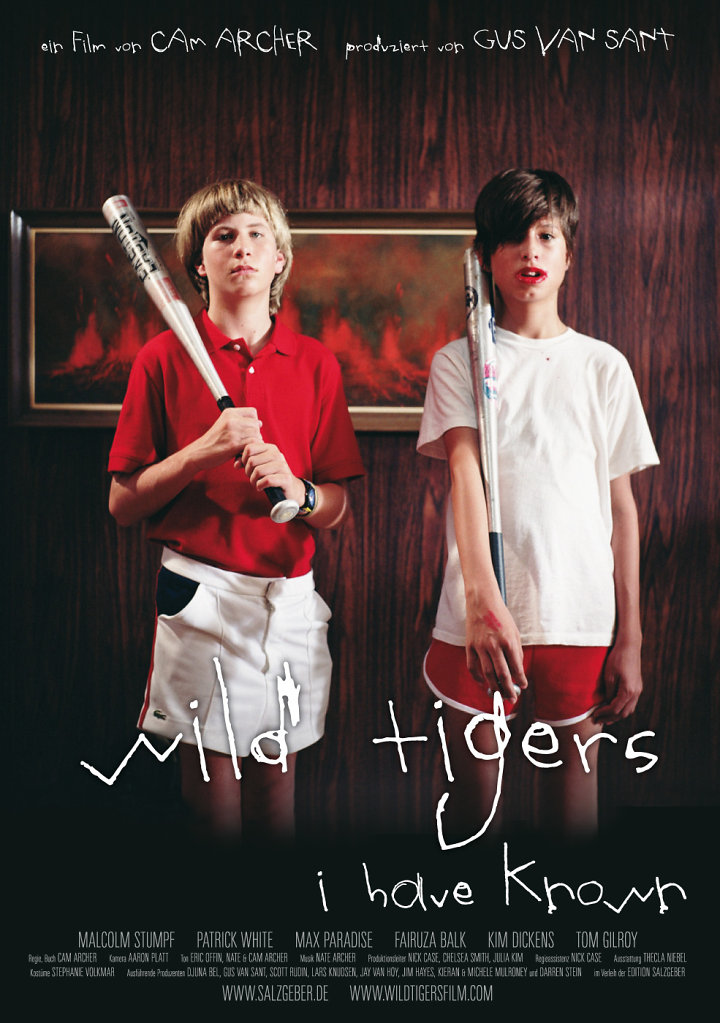 Wild Tigers I Have Known (Entwurf)